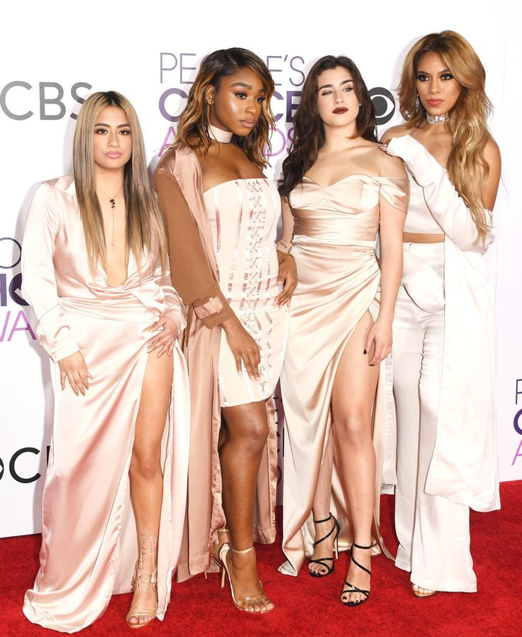 Fifth Harmony from People's Choice Awards 2017 Red Carpet Arrivals Before their highly anticipated performance, Ally Brooke, Normani Kordei, Lauren Jauregui and Dinah Jane prove to be the perfect match.