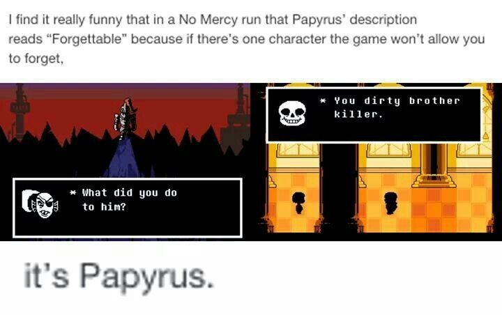Papyrus is not forgotten