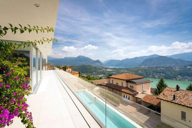 Красивые апартаменты с панорамным видом на горы