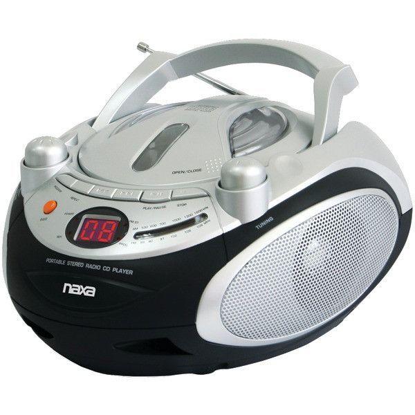 Portable CD Player & AM/FM Radio - NAXA - NPB245