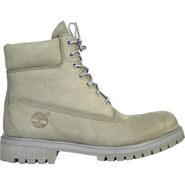 Pre-owned Timberland Grey Suede Boots ($108) ❤ liked on Polyvore featuring men's fashion, men's shoes, men's boots, grey, men shoes boots, mens grey shoes, mens gray shoes, timberland mens shoes, mens suede shoes and mens suede lace up shoes