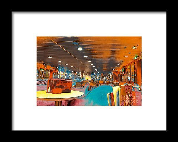 Canteen Framed Print by Eleni Mac Synodinos