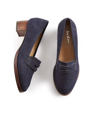 Low Heeled Loafer AR639 Flats at Boden