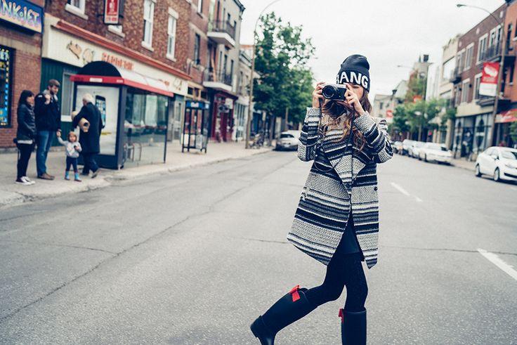 #bang#stripes#coat#photo#camera