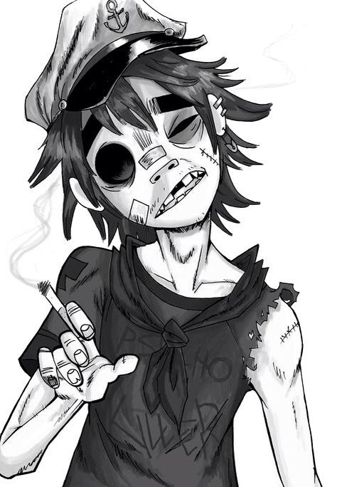 2D - I wanna draw him