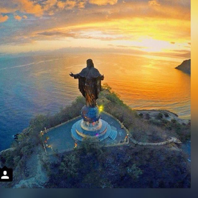 Cristo Rei, East Timor, Indonesia - World's largest Christ statue.