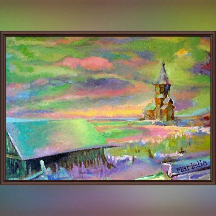 """""""Mood"""" , oil on canvas"""