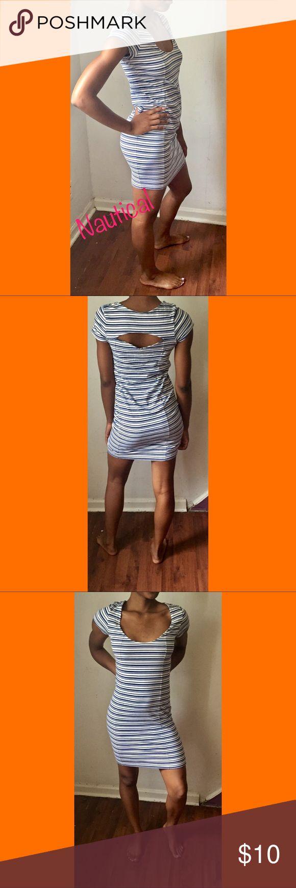 Striped bodycon address Nautical bodycon dress ASOS Dresses Mini