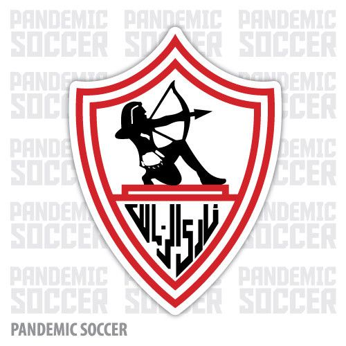 Zamalek SC Giza Egypt Vinyl Sticker Decal