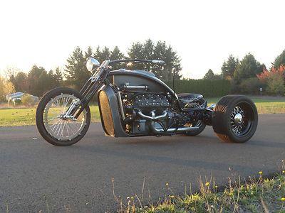 Custom Built Motorcycles : Other Ford Flathead V8 Trike Custom Bobber Chopper Hot Rod Ratrod Motorcycle Bike|Cheap Motorcycles For Sale
