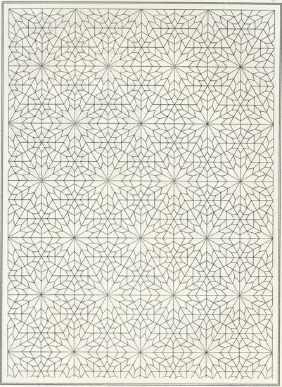 motif graphique islamique
