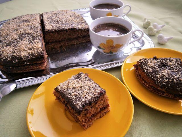 KOČKY SOBĚ: Perník s čokoládou oříšky a kávou domácí marmeláda...