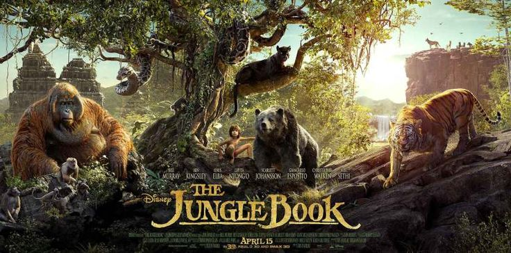 "Nuevo trailer de ""The Jungle Book"""