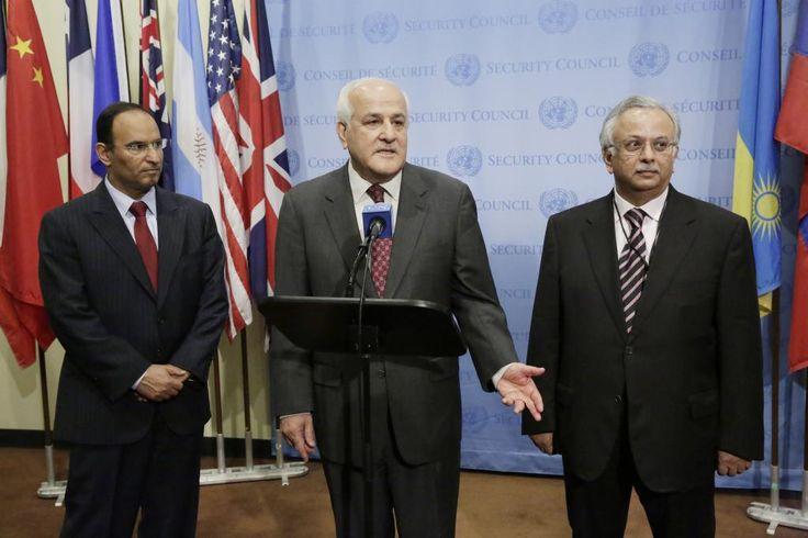 Foto: Evan Schneider / UN Photo Em Nova York, Conselho de Segurança da ONU discute a situação na Faixa de Gaza
