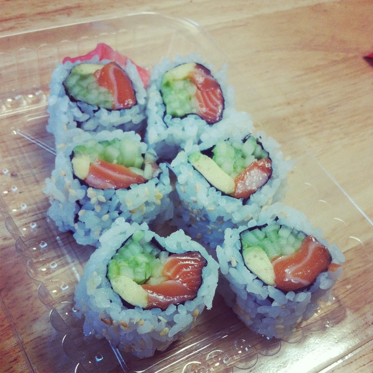Alaska roll- My personal favorite other than J&Y's Dynamite Roll :)