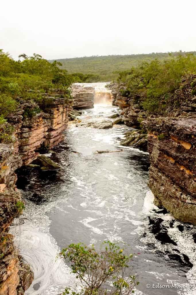 Chapada Diamantina - dia 1 - Cachoeira do Buracão