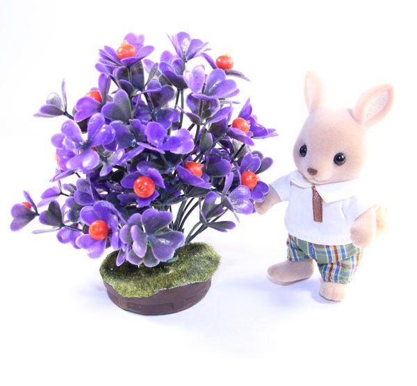 Фиолетовый куст Деревья и цветы для Sylvanian families на ...