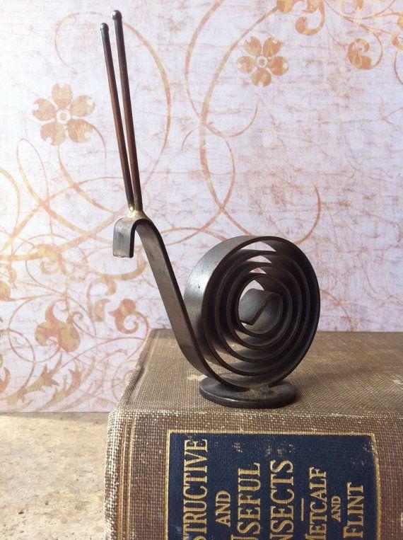 Vintage Snail Desk Accessory