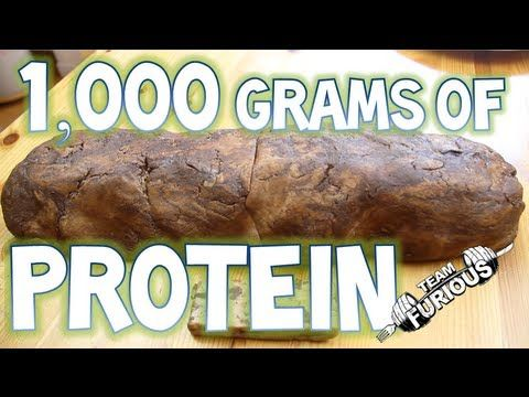 World's Biggest Protein Bar (1000+ GRAMS OF PROTEIN / 833 GRAMS OF FIBER...