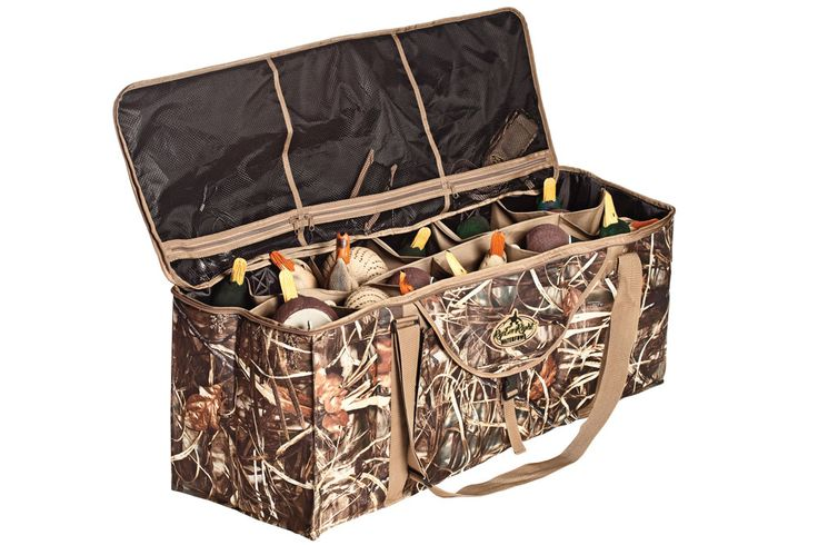 "Wildfowl Magazines ""The Best Waterfowl Gear for 2014"" featuring Rig'Em Right's 12-Slot Deluxe Duck Decoy Bag!"