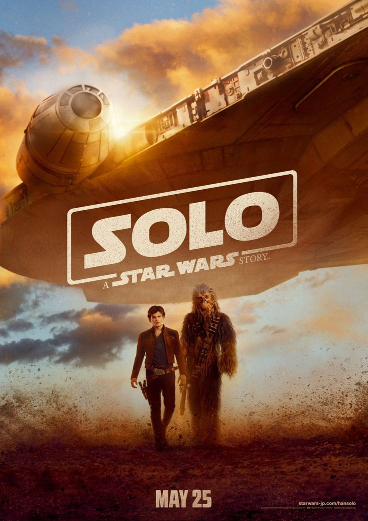 Solo: A Star Wars Story (Japanese poster)