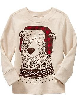 Holiday Bear Graphic Tees for Baby | Old Navy