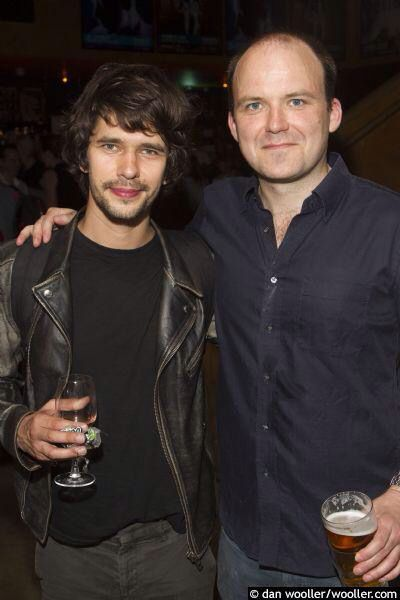 Ben Whishaw and Rory Kinnear at the opening of The Trial 6/26