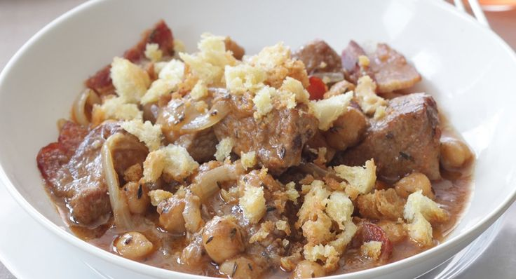 Roasted Cumin and Chickpea Cassoulet: Chickpeas Cassoulet, Roasted ...