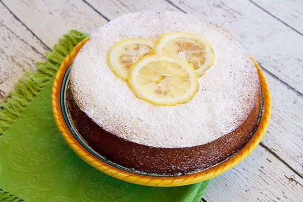 Italian Food Forever » Lemon Almond Cake {Dolce di Amalfi}