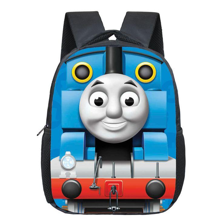 Thomas School Backpack For Boys Cartoon Backpacks Children Backpack Kids School Bags Kindergarten Backpacks Kids Daily Bag Gifts