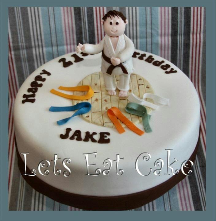 Karate cake   https://m.facebook.com/pages/Lets-Eat-Cake/215286061816033?id=215286061816033&_rdr