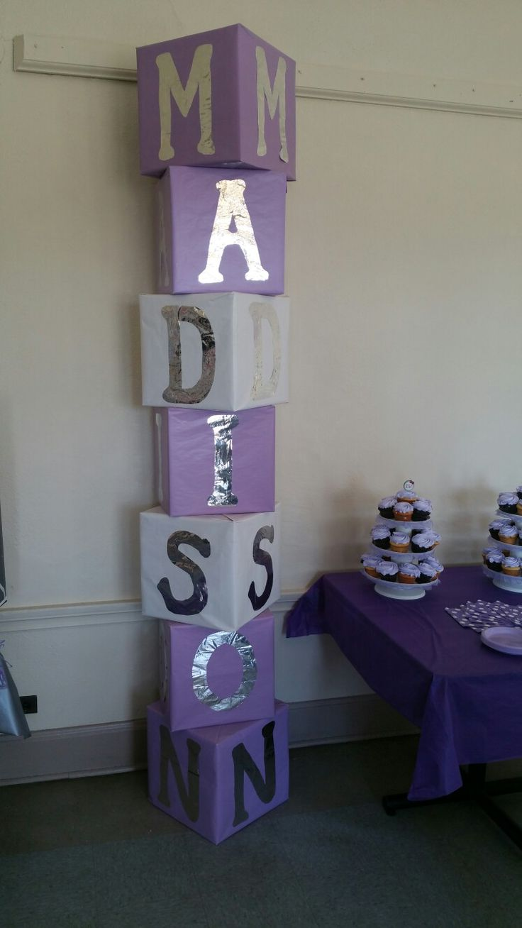 915 best images about embellished words letters and for Baby shower foam decoration