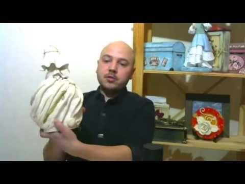 (1) Дмитрий Руденский- Декупаж бутылки. НОВАЯ ЖИЗНЬ В НОВОЙ ФОРМЕ - YouTube