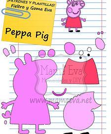 Por fin Peppa Pig. Nos la habéis pedido y ya la hemos hecho! También la tienes en Máscaras y Caretas para Carnaval en la misma sección de la web. www.mamaeva.net