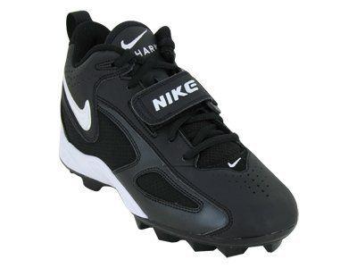 Nike Kids NIKE BLADE II SHARK (BG) KIDS BASEBALL CLEATS 3.5 (BLACK/