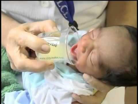 Técnica do copinho - SBP - Sociedade Brasileira de Pediatria - YouTube