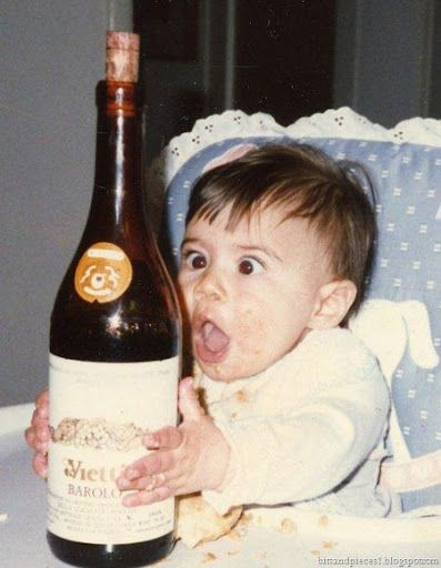 i get this excited when i drink out of the bottle too #wine #weekend #bottleservice
