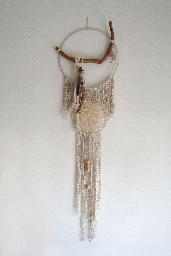 Areti Large Bohemian Dreamcatcher decorated with by Wunderdreams