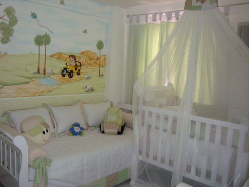 46 best dormitorios bebes (L) images on Pinterest | Baby room, Child ...