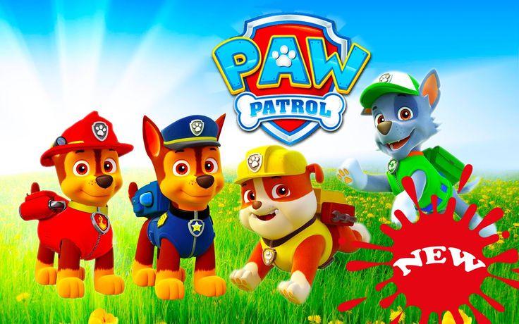 Paw Patrol Full Episodes English | Season 1 Episodes 1-10