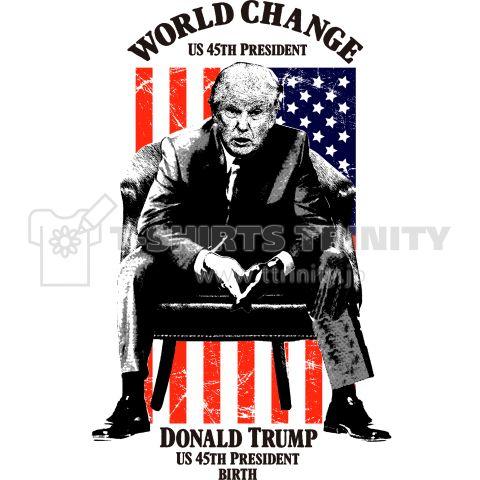 第45代アメリカ大統領 ドナルドトランプ大統領誕生 Cool Vintage    第45代アメリカ大統領 ドナルドトランプ誕生!  おめでとう!とうとう世界が変わる時が来た!  アメリカを中心に何もかも変わる。  そう、これが始まりの合図なのだ…。