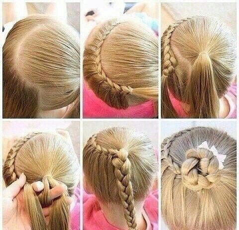 Un peinado que hará que tu pequeña luzca como una princesa