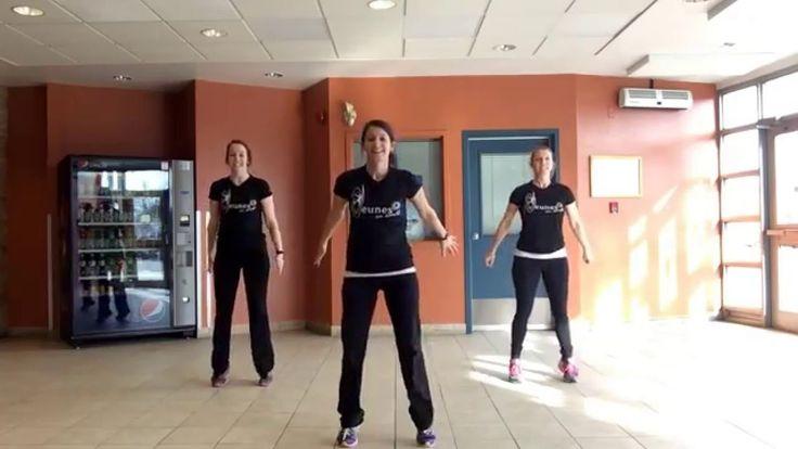 Jeunes en santé Danse échauffement #4