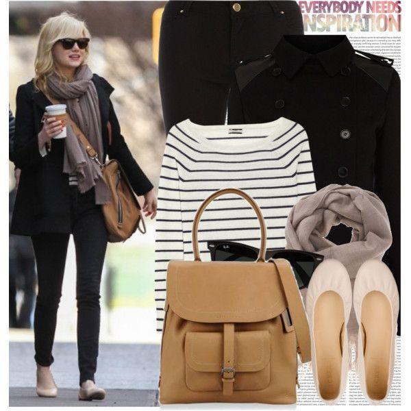 868. Celebrity Style: Emma Stone by chocolatepumma on Polyvore