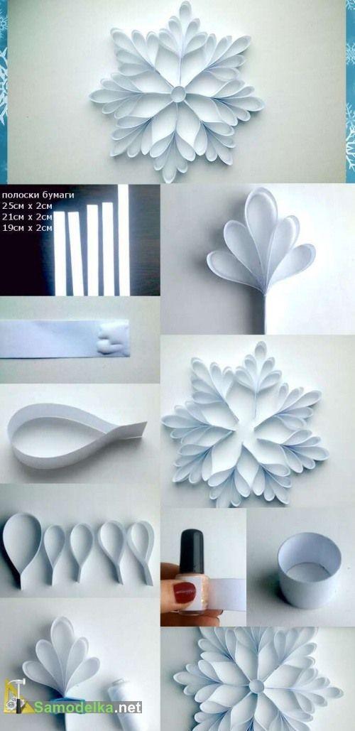 DIY | Des décorations de Noel en papier! 15 idées pour vous inspirer…