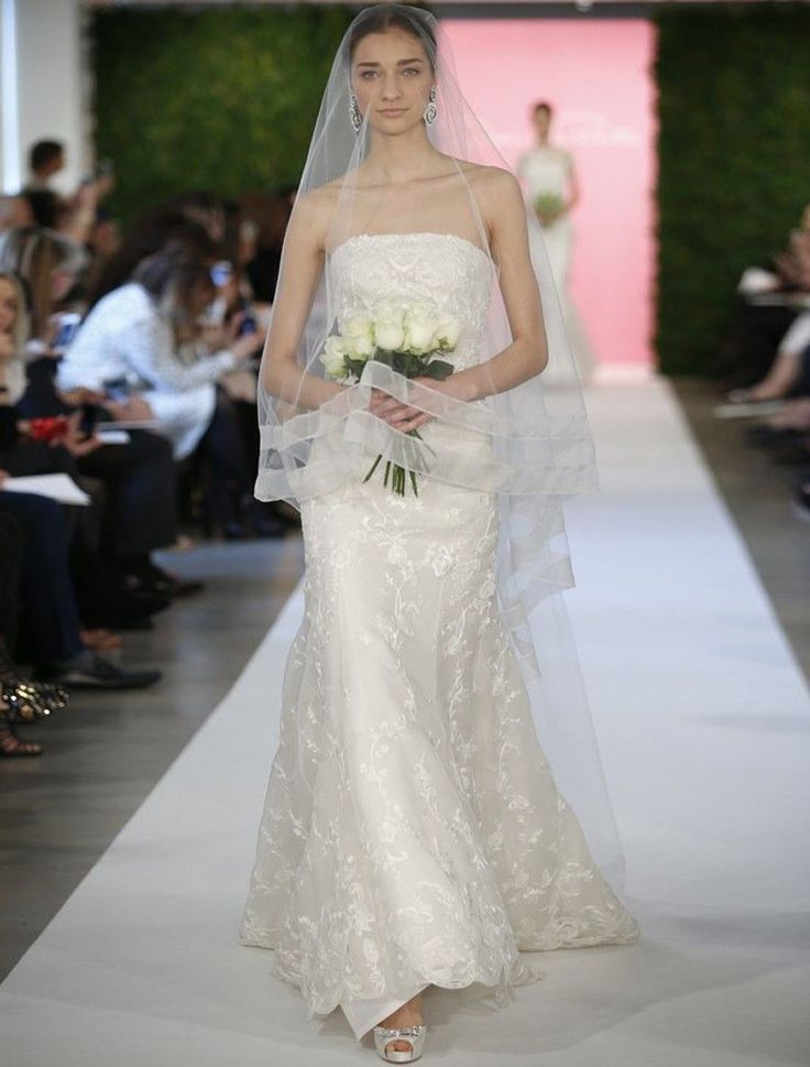 Cool Oscar De La A E X Designer Wedding Dress