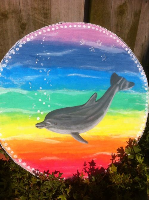 Oceandrum with the sound of the sea, Dolfin