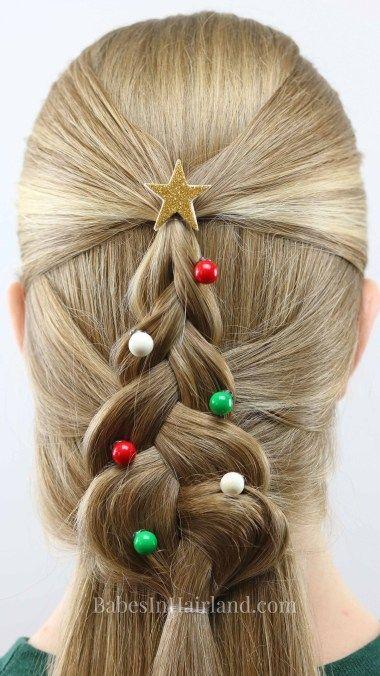 Mermaid Braid Weihnachtsbaum Braid Mermaid Weihnachtsbaum Christmas Hairstyles Cool Braid Hairstyles Hair Styles
