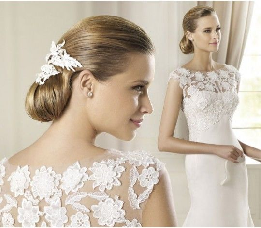 Hairstyles For Your Wedding : 7 best wedding hairstyle and your dress neckline images on