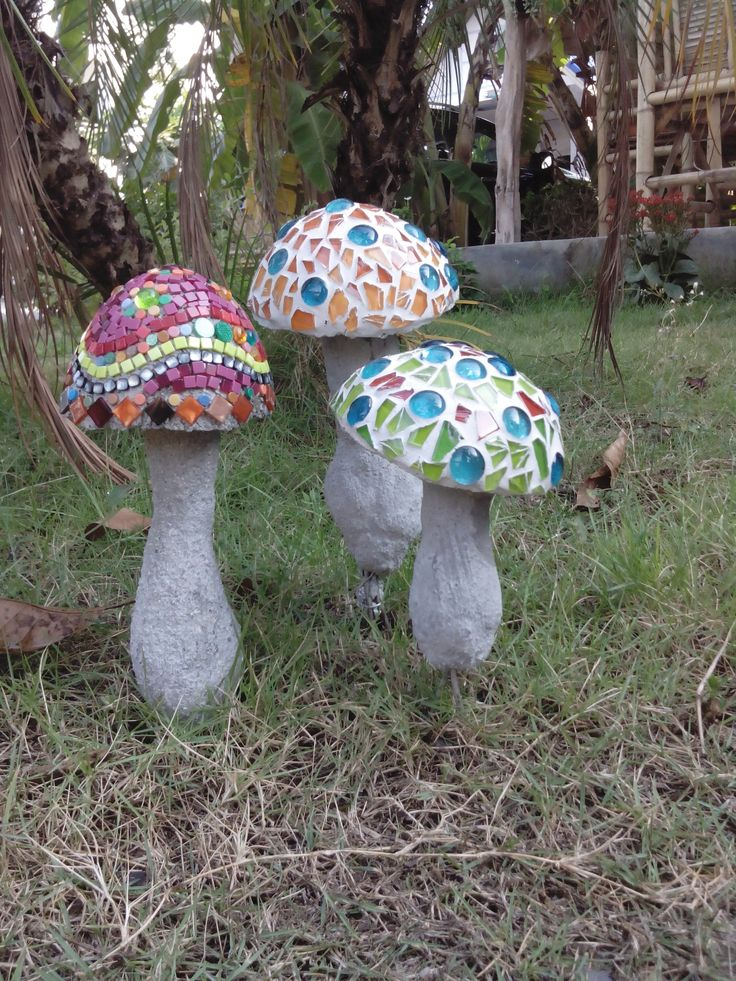 mushroom mosaic.
